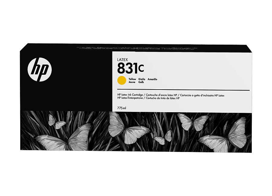 Фото - Картридж HP 831 Yellow 775 мл (CZ697A) lubby пустышка латексная утенок от 0 месяцев