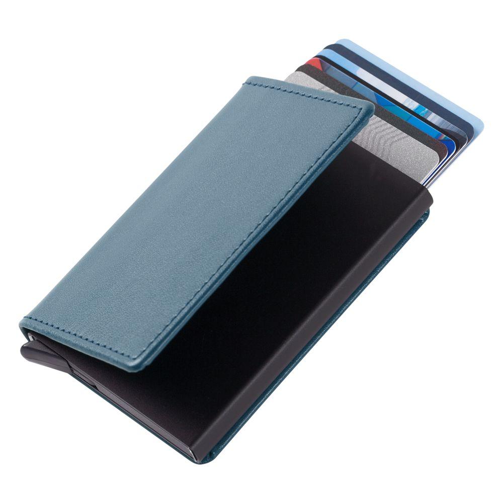 Футляр для кредитных карт Stroll, синий недорого