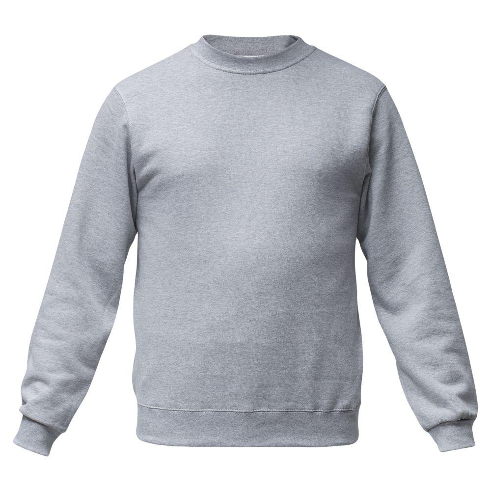 Толстовка ID.002 серый меланж, размер M толстовка id 002 черная размер s
