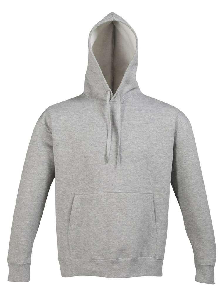 Толстовка с капюшоном SLAM 320, серый меланж, размер XS фото
