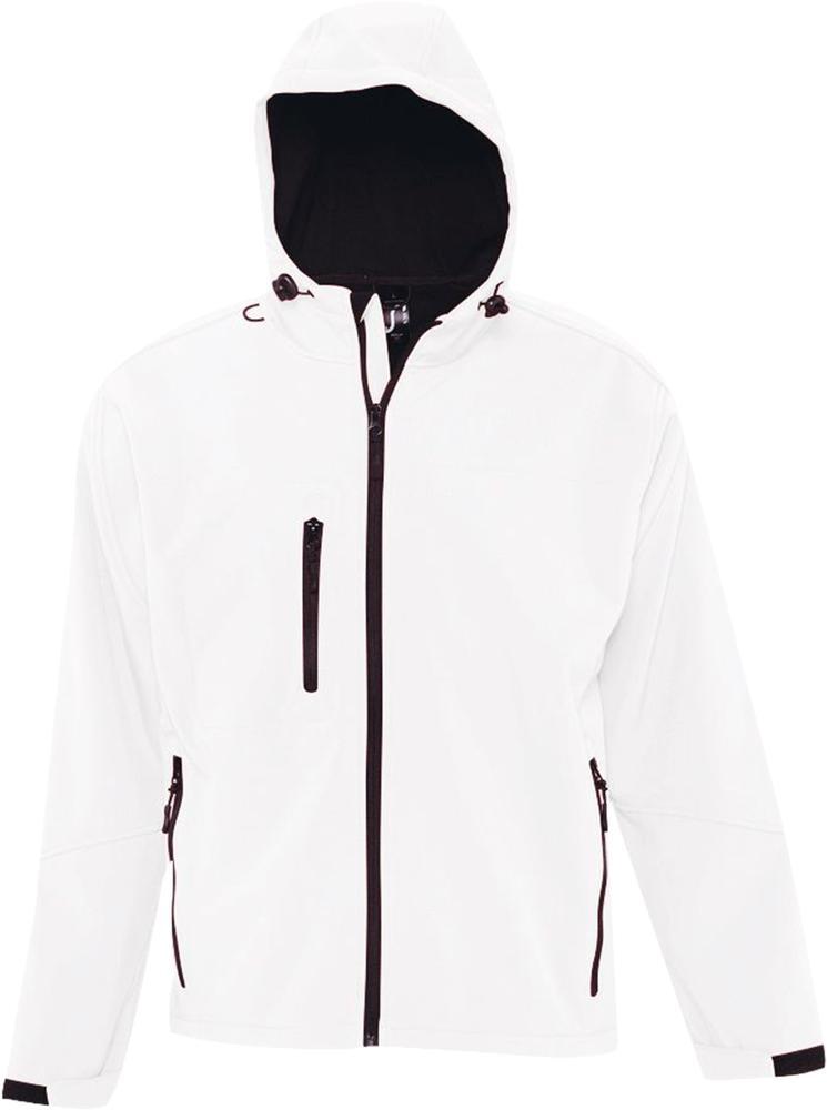Куртка мужская с капюшоном Replay Men 340 белая, размер S фото