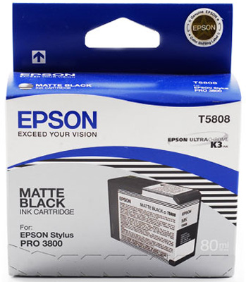 Epson T5808 Matte Black 80 мл (C13T580800) epson t6925 matte black 110 мл c13t692500