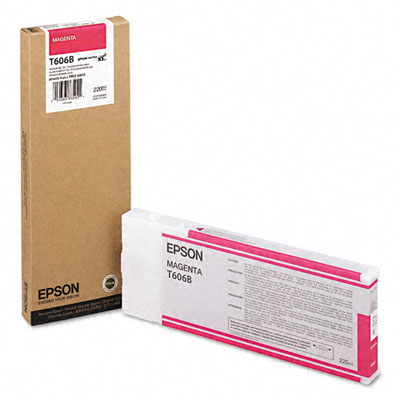 Epson T606B Magenta 220 мл (C13T606B00)