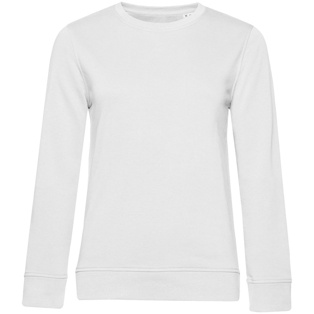 Свитшот женский BNC Organic, белый, размер M