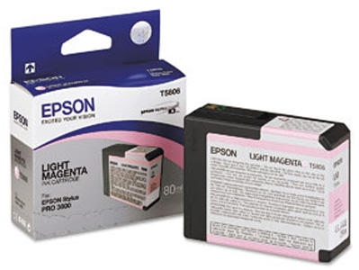 T580B Light Magenta 80 мл (C13T580B00) картридж epson c13t580b00 для epson stylus pro 3880 vivid light magenta