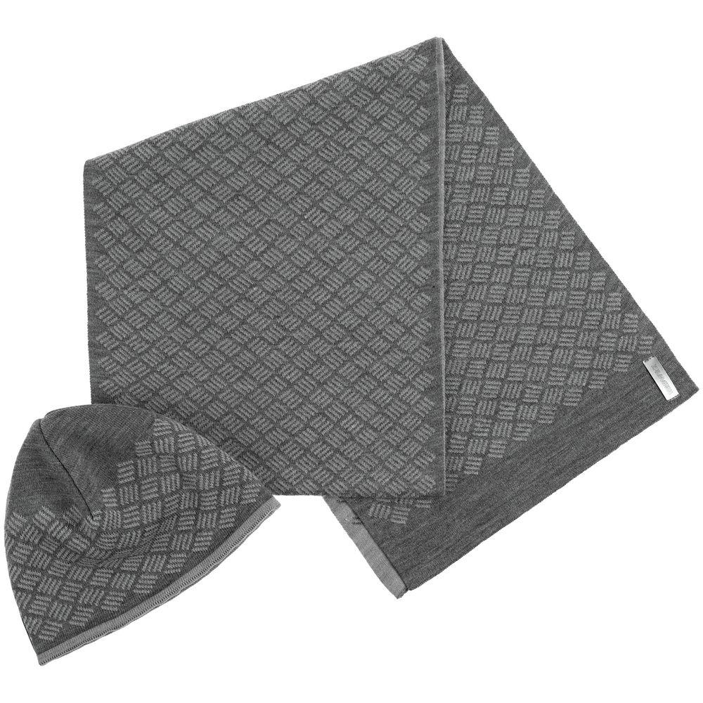 Набор Hard Work: шапка и шарф набор шапка и шарф детский для девочек c размером disney frozen