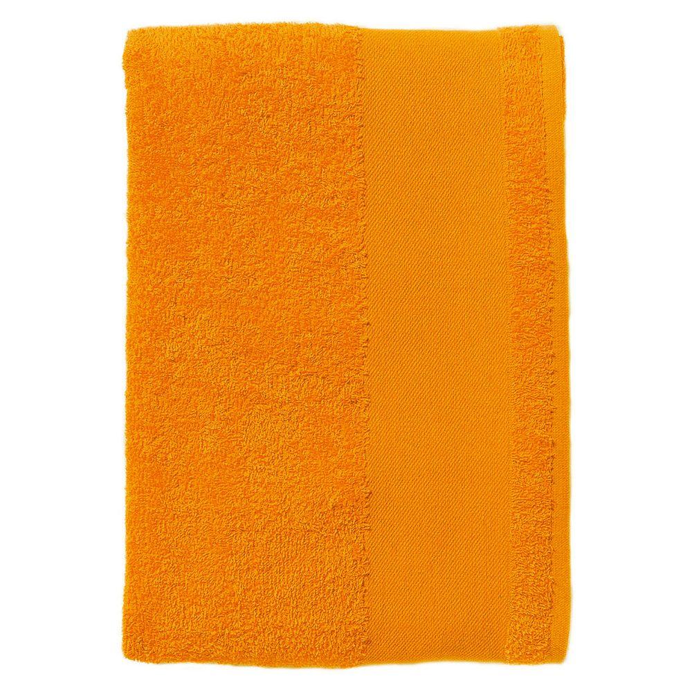 Полотенце махровое Island Large, оранжевое полотенце махровое island large темно зеленое