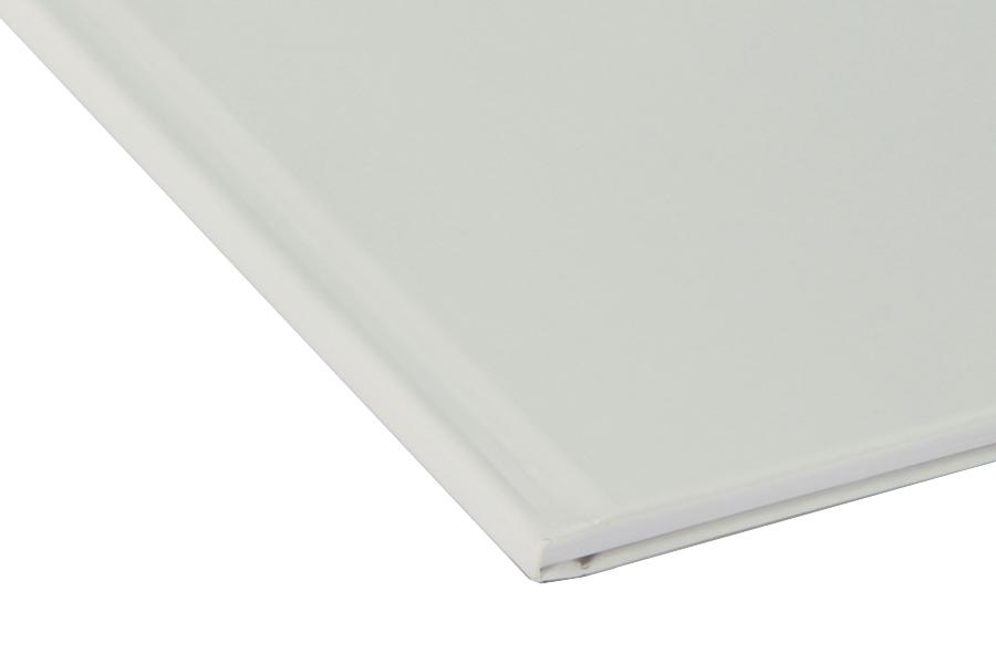 Папка для термопереплета Unibind, твердая, 280, белая папка для термопереплета твердая 280 оранжевая
