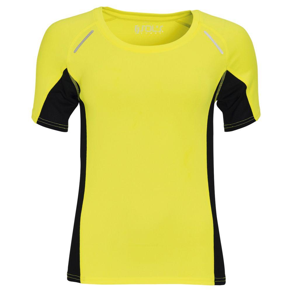 Футболка SYDNEY WOMEN, желтый неон, размер L гибкий неон led желтый оболочка желтая бухта 50м