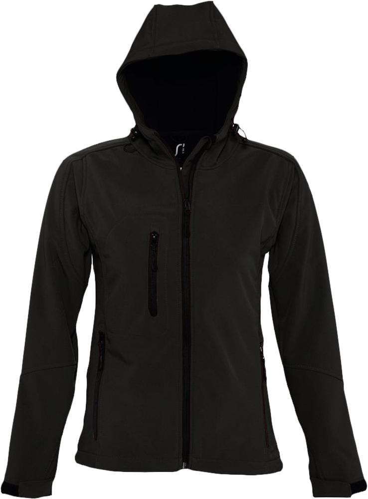 Куртка женская с капюшоном Replay Women 340 черная, размер S