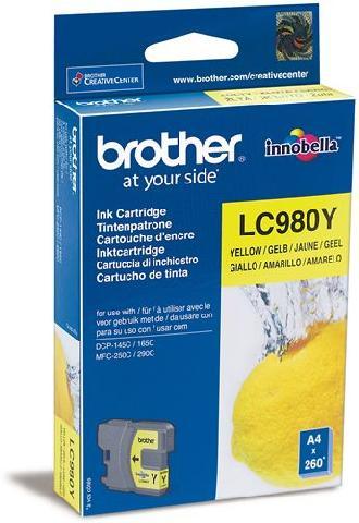 Картридж Brother LC980Y цена 2017