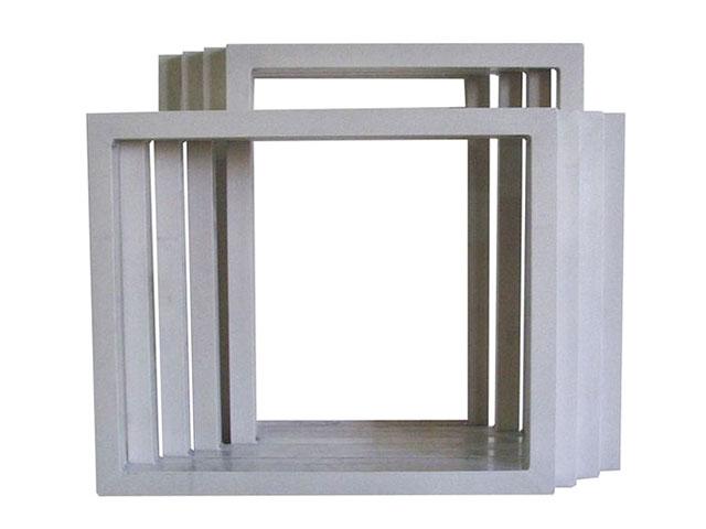 Фото - Рама алюминиевая 924 х 924 мм (профиль 38 х 38 х 2 мм) этажерка berossi ладья 1к мобильная на колесиках размер 44 х 17 х 73 5 см серая э 321 с