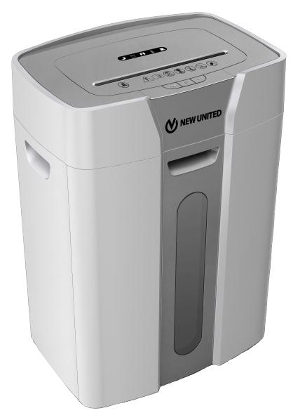 Купить Шредер (уничтожитель), Etalon ET-12M (2x12 мм), серебро/серый, New United
