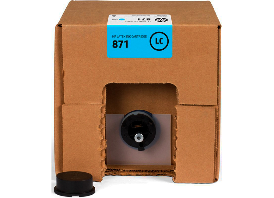 Фото - Картридж HP Latex 871 Light Cyan 3 л (G0Y83C) термоконтейнер для еды 6209 139 1 5 л голубой
