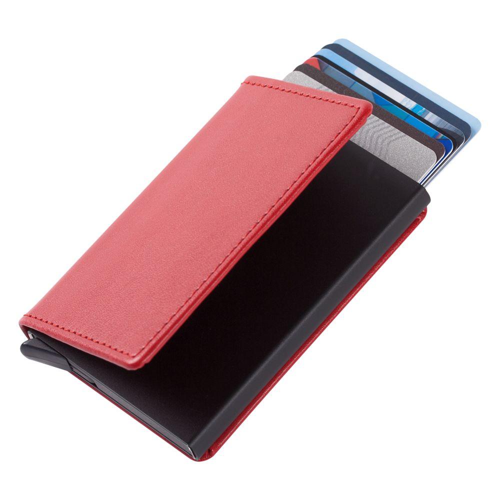 Футляр для кредитных карт Stroll, красный футляр для банковских карт dimanche
