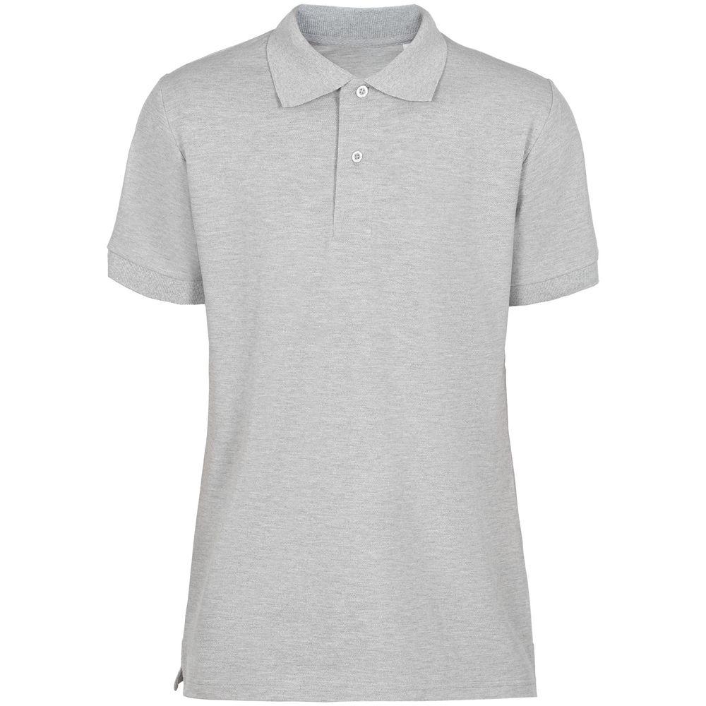 Фото - Рубашка поло мужская Virma Premium, серый меланж, размер L рубашка поло мужская virma premium красная размер l