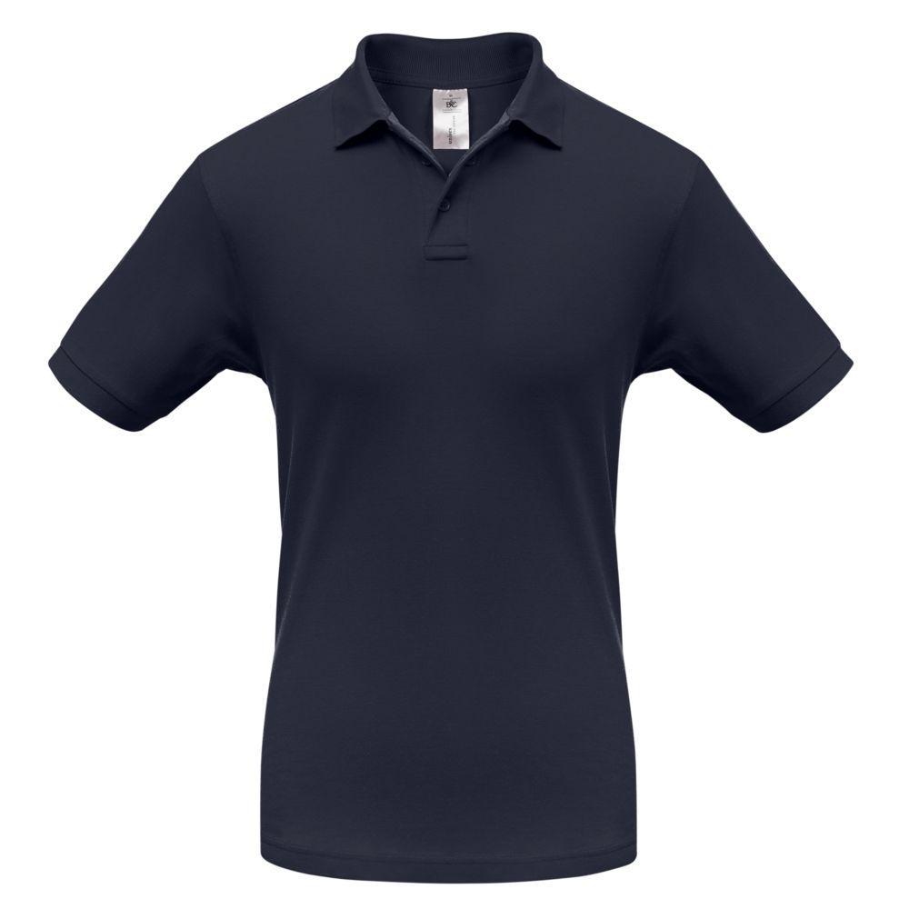 Рубашка поло Safran темно-синяя, размер M рубашка поло safran темно синяя размер xxl