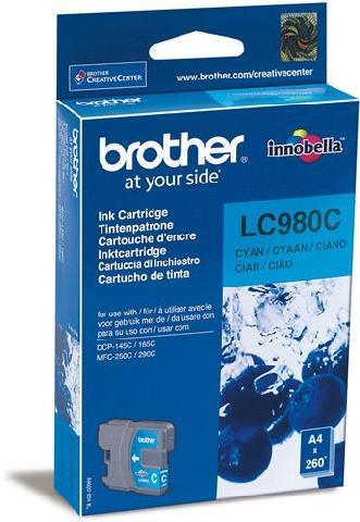 Фото - Картридж Brother LC980C картридж brother lc980c