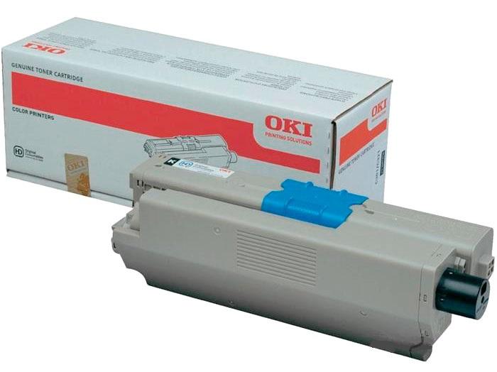 Тонер-картридж TONER-K-C332/MC363-1.5K-NEU (46508740) картридж sakura 46508733 для oki c332 mc363 желтый 3 000 к