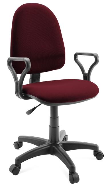 раздолье кресло офисное сатурн бордовое Кресло оператора Классик, бордовое