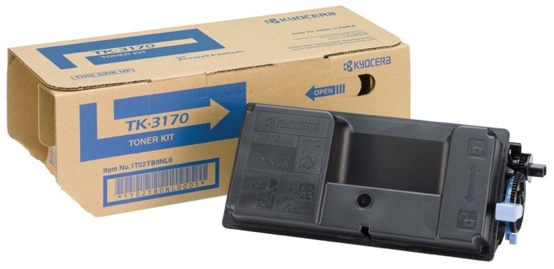 Фото - Тонер-картридж Kyocera TK-3170 тонер картридж integral tk 3170 для kyocera p3050 p3055 p3060