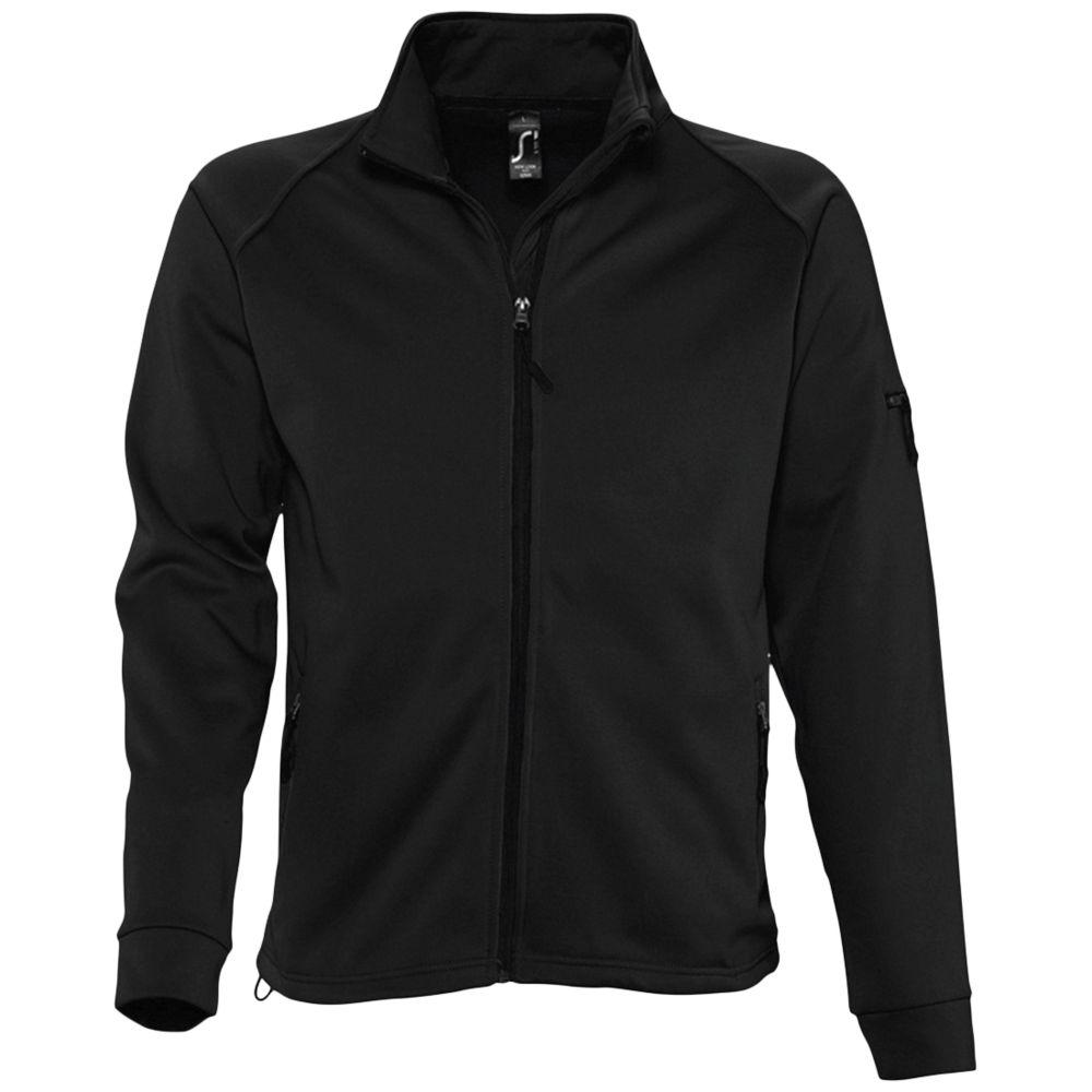 Куртка флисовая мужская New look men 250 черная, размер S