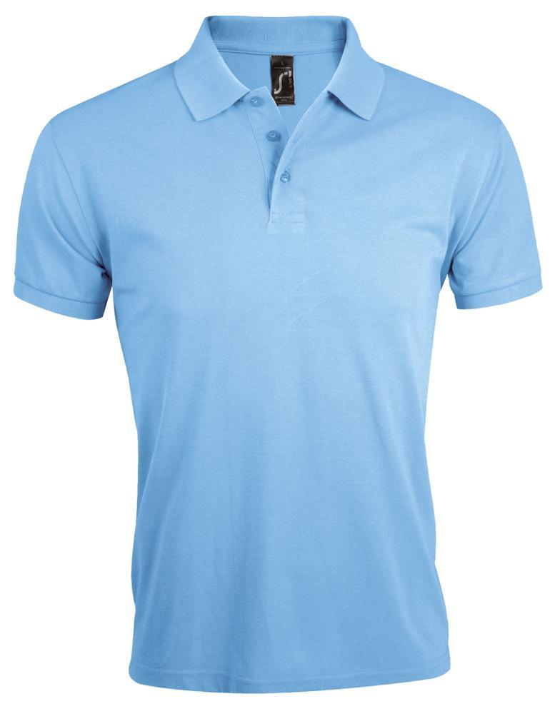 Рубашка поло мужская PRIME MEN 200 голубая, размер XL рубашка поло мужская prime men 200 бежевая размер xl