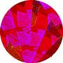Фото - Фольга голограмма 13, Листовая, красное битое стекло, A4, 10 шт стекло