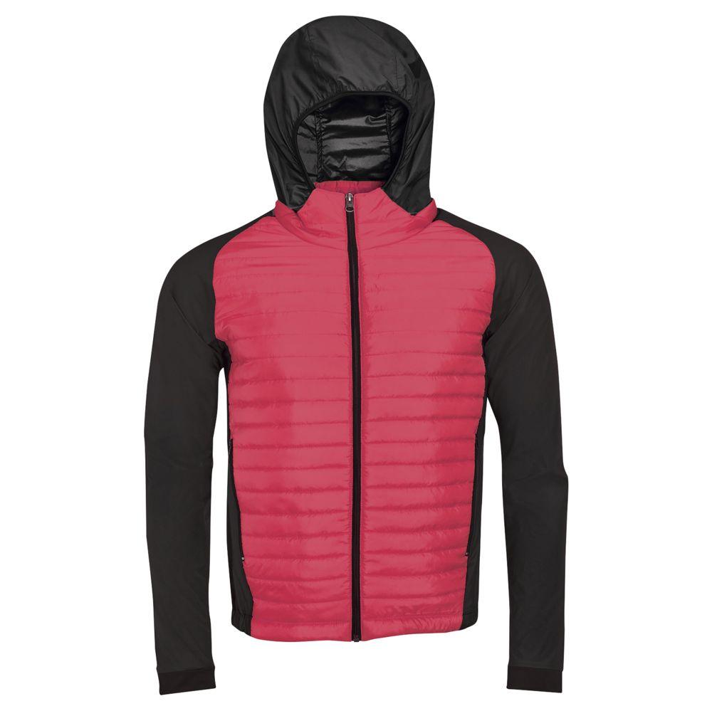 Куртка NEW YORK MEN неоновый розовый (коралл), размер S