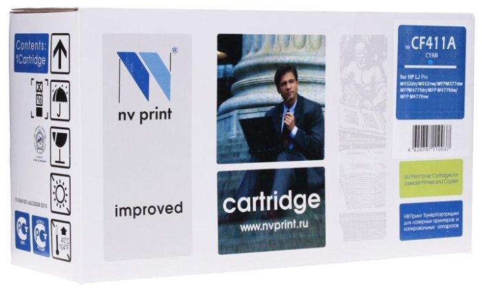 Фото - Картридж NV Print CF411A nv print nv tk5160c голубой