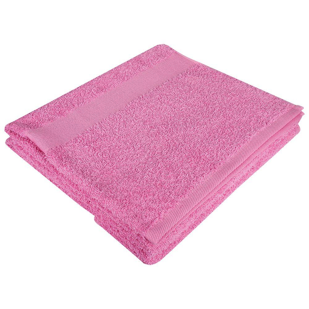 цена Полотенце махровое Soft Me Large, розовое онлайн в 2017 году