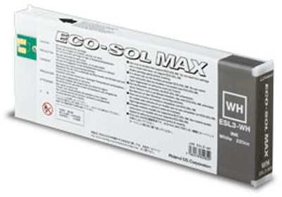 ECO-SOL MAX White 220 мл (ESL3-WH) eco solvent3 light cyan 220 мл esl3 lc
