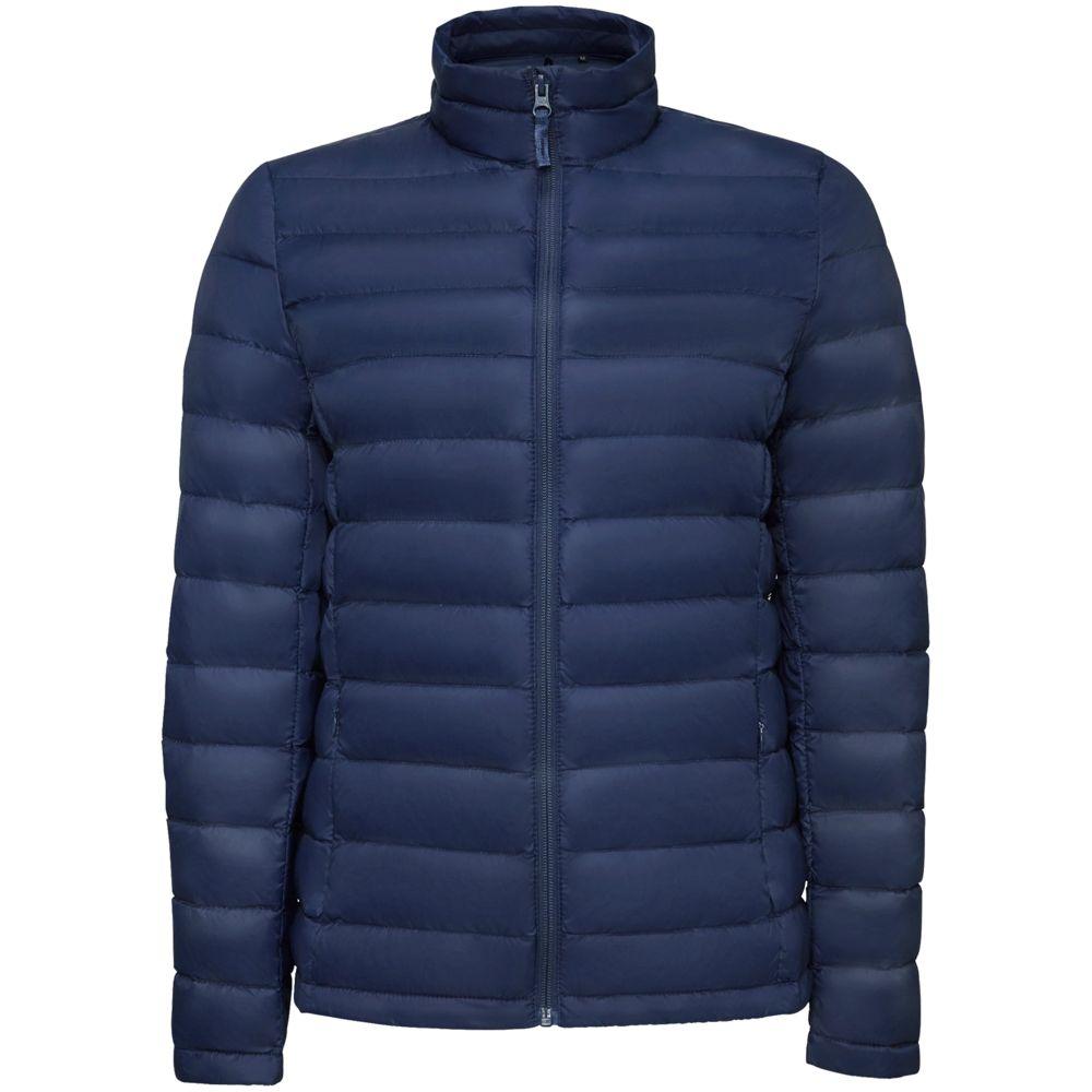 Куртка женская WILSON WOMEN темно-синяя, размер M куртка женская wilson women серая размер m