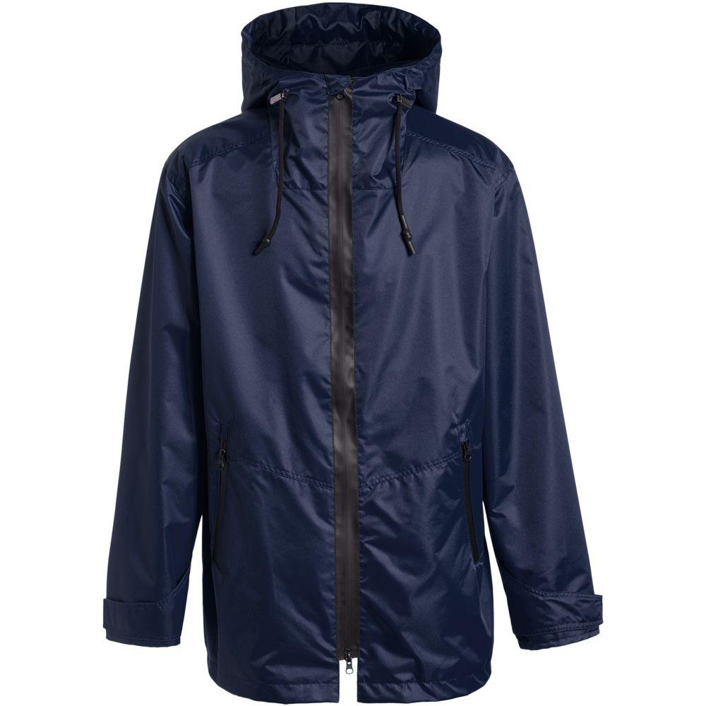 Ветровка мужская Medvind темно-синяя, размер S ветровка мужская helly hansen crew hooded jacket цвет синий 33875 597 размер s 46
