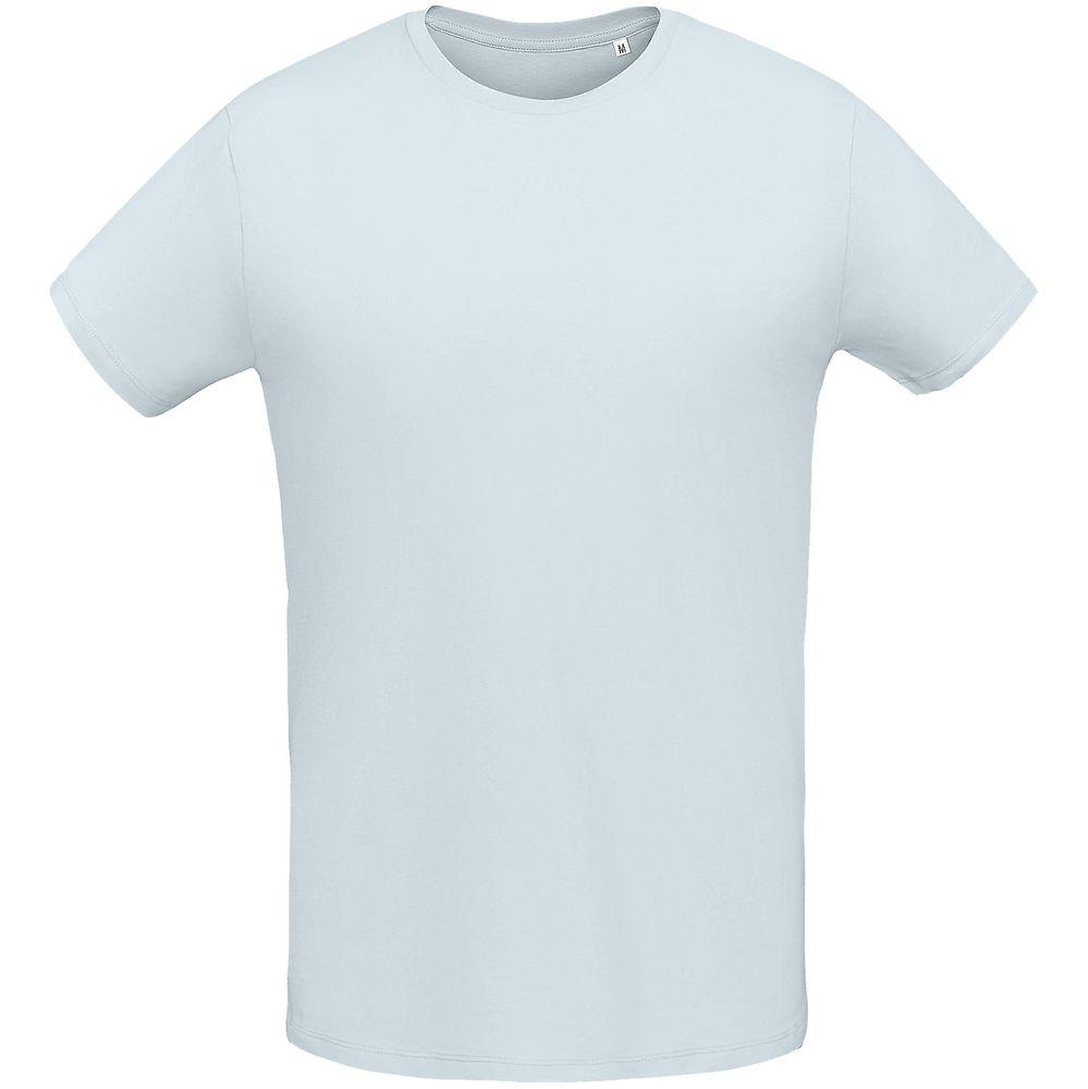 Футболка мужская MARTIN MEN голубая, размер XXL