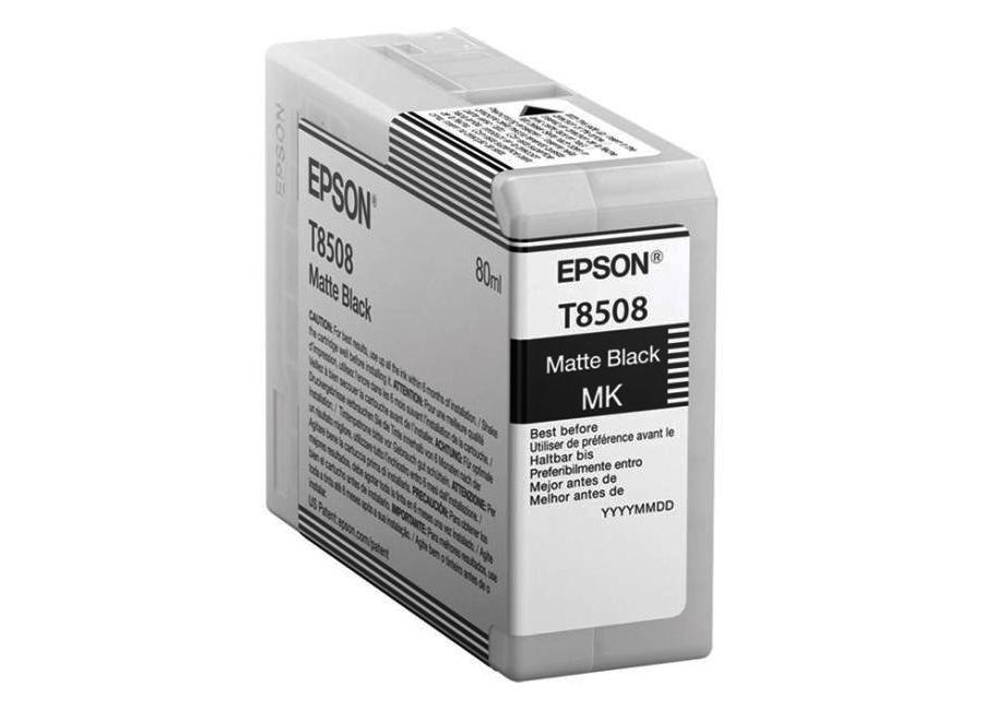 цена на T8508 Matte Black 80 мл (C13T850800)