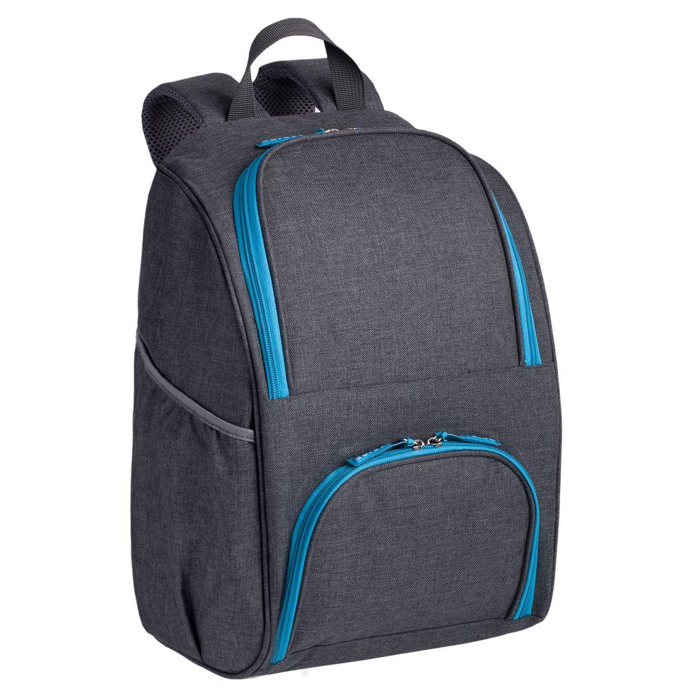 цена на Изотермический рюкзак Liten Fest, серый с синим