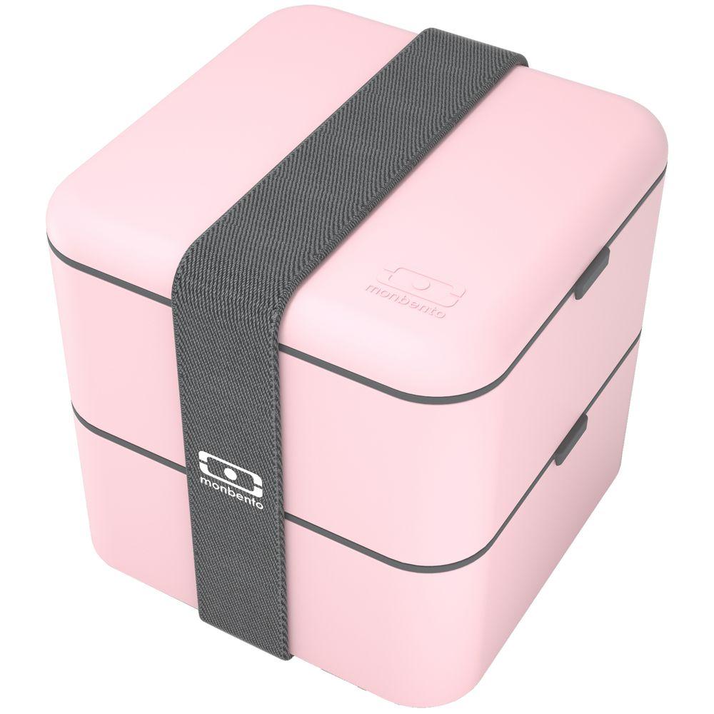 Ланчбокс MB Square, розовый ланчбокс mb original черный