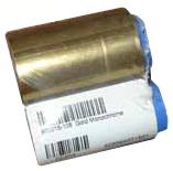 Фото - Монохромная золотая лента Zebra 800015-106 хилл наполеон золотая формула успеха мысли которые привлекут деньги
