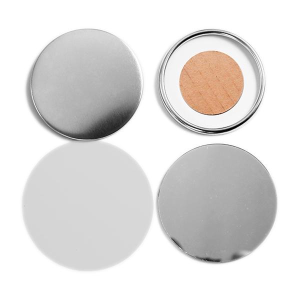 Фото - Заготовки для значков d75 мм, металл/зеркало, 100 шт зеркало misty марта п мрт02060 052