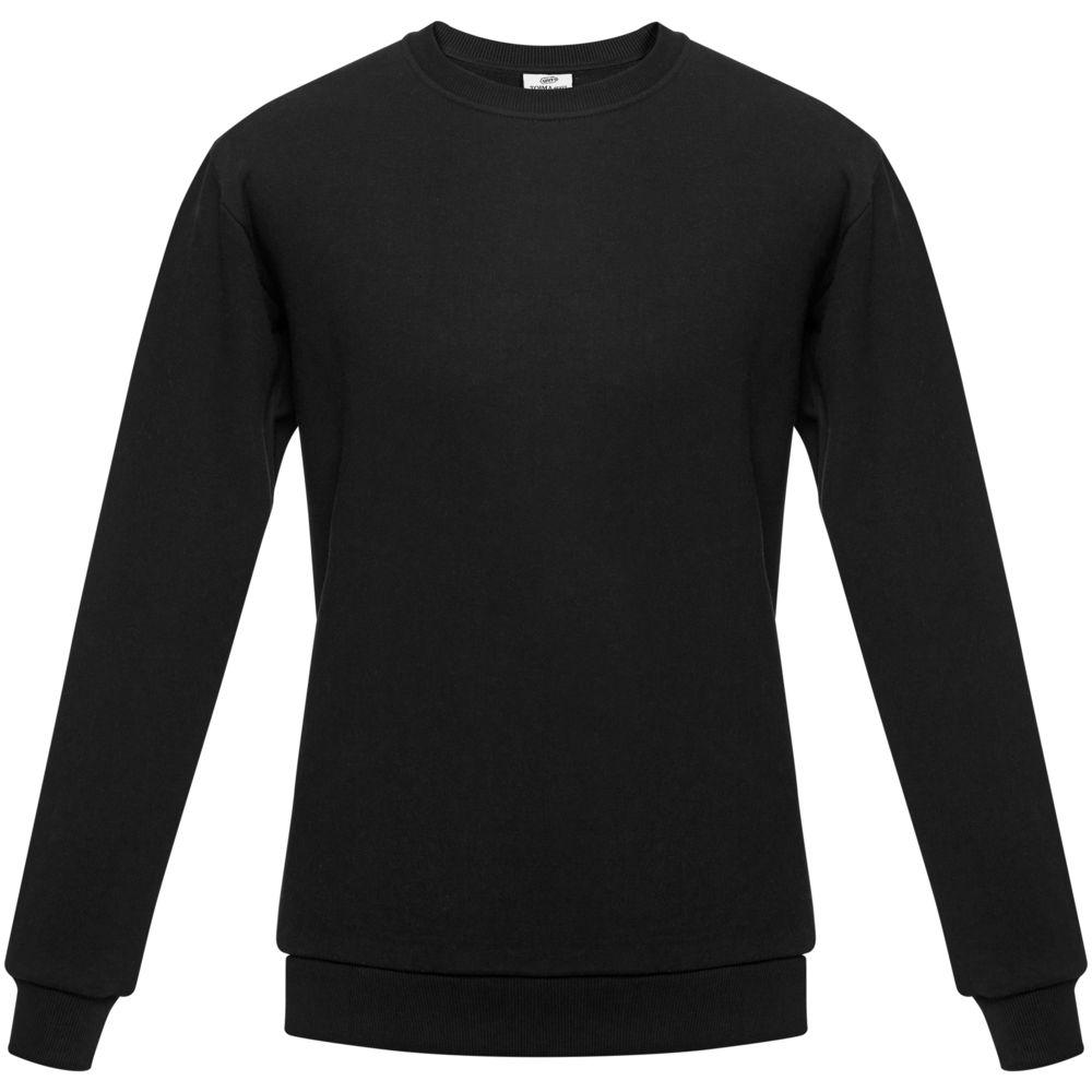 Толстовка Unit Toima Heavy черная, размер 4XL