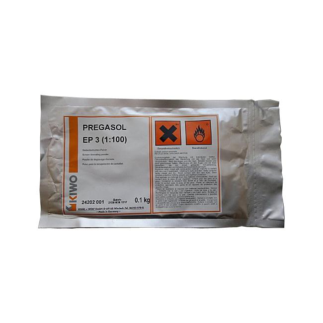 Фото - Отслаиватель фотоэмульсии KIWO PREGASOL EP3 (0.1 кг) отслаиватель фотоэмульсии pregasol f 1 л