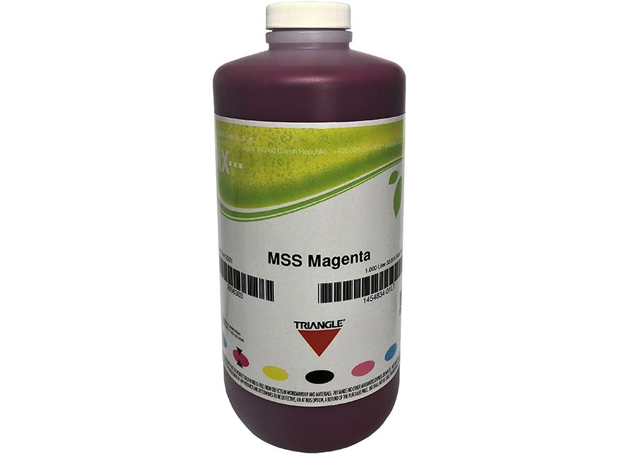 Фото - Бутыль с экосольвентными чернилами Triangle MSS Eco Magenta 1 л (INX-1454834_01LT) urtekram мужской лосьон для лица и тела алоэ вера баобаб 150 мл
