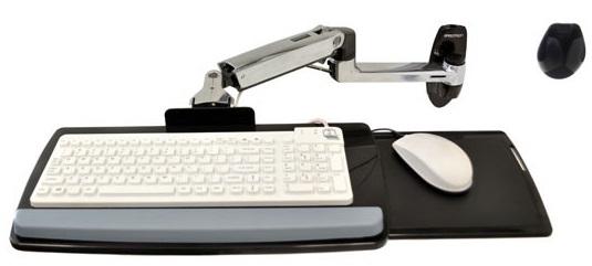 Настенное крепление для клавиатуры ручного типа LX серебро (45-246-026) lx 45 247 026