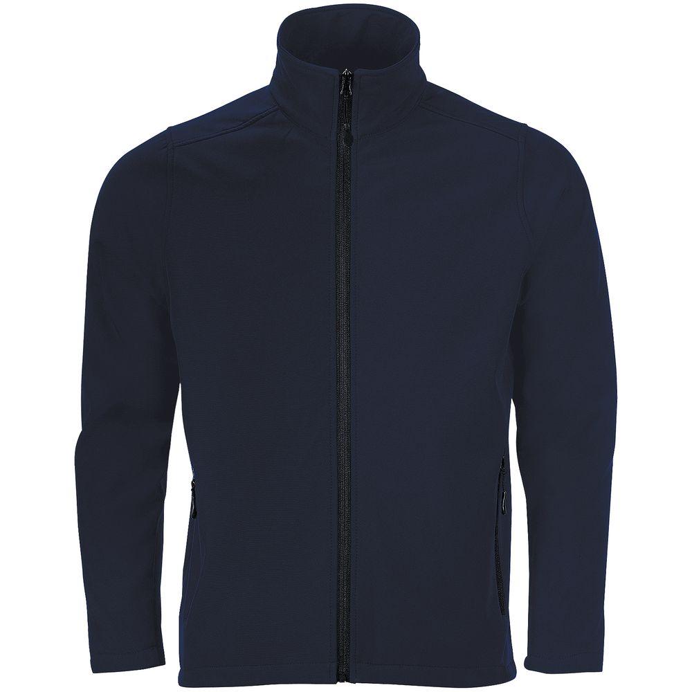 Куртка софтшелл мужская RACE MEN темно-синяя, размер L
