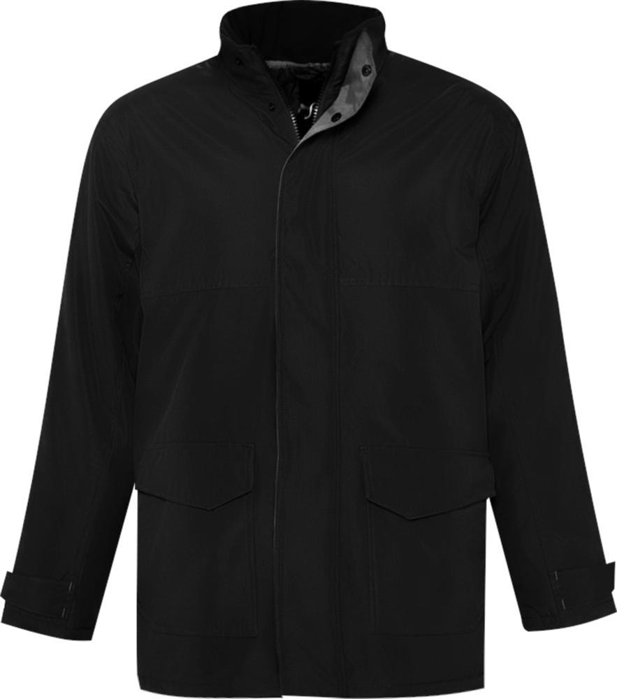 Куртка унисекс RECORD черная, размер L фото