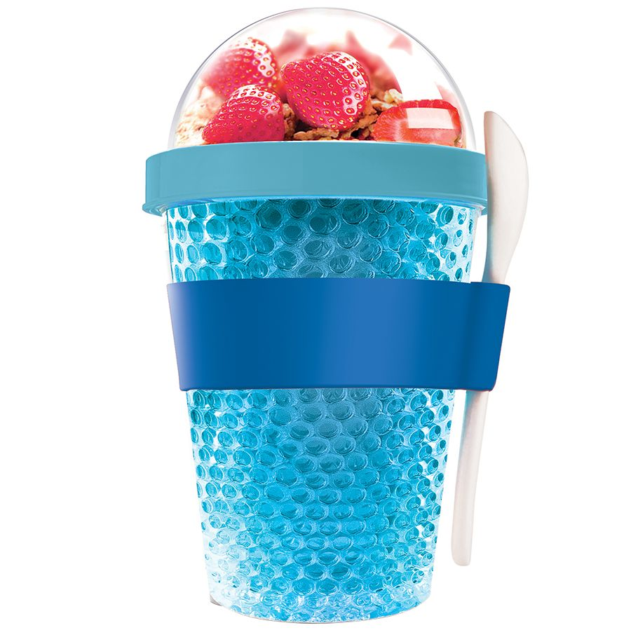 Фото - Охлаждающий контейнер Chill Yo 2 Go, голубой go 2