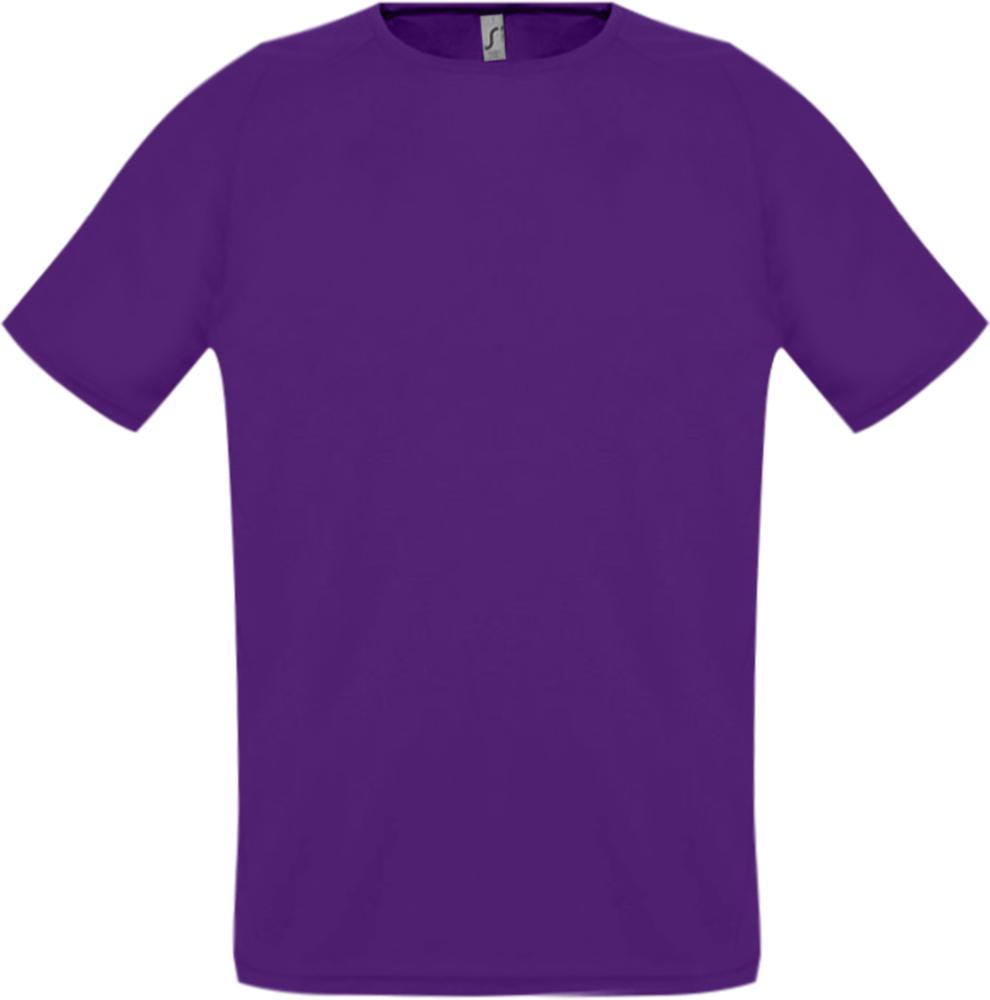 Футболка унисекс SPORTY 140 темно-фиолетовая, размер XXS футболка унисекс sporty 140 красная размер xxs
