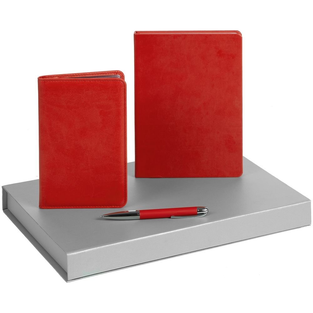 Набор Brand Trio, красный набор linen trio черный