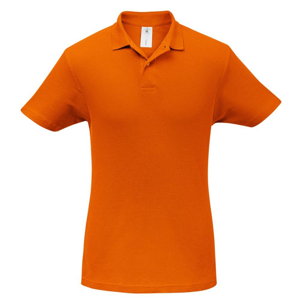 цена Рубашка поло ID.001 оранжевая, размер S онлайн в 2017 году